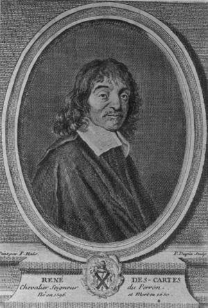 René Descartes (1596-1650), mecanicista en la concepción de la naturaleza, aplicó el método matemático a la filosofía.