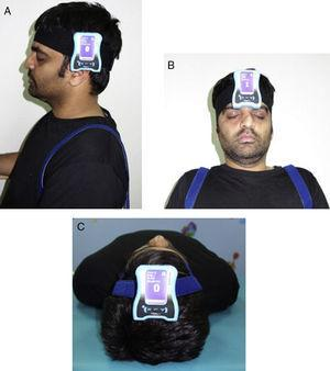 Neutral head position and target head position-testing procedure.