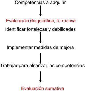 Proceso de la evaluación-formación.