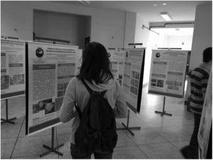 Event of exposure of the papers presented at the 31st Brazilian Congress of pathology in the block of the Biological Sciences and Health Sector of the State University of Ponta Grossa.