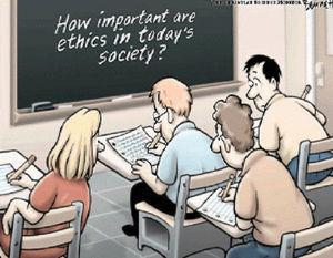 Expertos en ética.