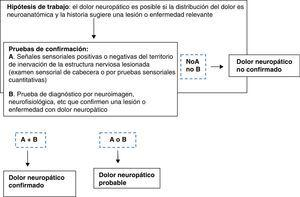 Diagnóstico de dolor neuropático. Modificada de Treede et al.1.