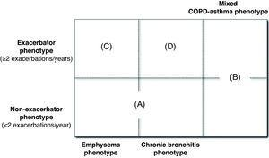 COPD clinical phenotypes.