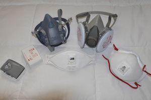 Barrier methods. Different models of masks and filters effective in preventing antigen exposure in FLD.
