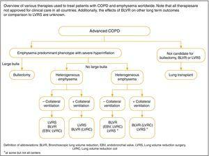 Interventional bronchoscopic and surgical treatments for COPD.