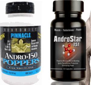 Alguns exemplos de embalagens comerciais de androstenediona.