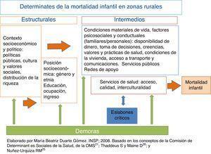 Determinantes sociales, demoras y eslabones críticos asociados con la mortalidad infantil en los municipios de menor índice de desarrollo humano. México, 2007.