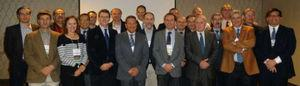 Annals of Hepatology´s Editorial Board Meeting (Boston, Mass. 2016). Upper line from left to right: Aldo Montaño-Loza (Mexico), Kevor Peltekian (Canada), Arturo Panduro (Mexico), Alejandro Sosa (Chile), Stefano Bellentani (Italy), Adrian Gadano (Italy), Marco Arrese (Chile), Hugo Cheinquer (Brazil), Manuel Romero Gómez (Spain), Misael Uribe (Mexico), Ezequiel Ridruejo (Argentina), Juan Caballeria (Spain), Fernando Bessone (Argentina), Libor Vitek (Austria). Lower line from left to right: Gustavo Castaño (Argentina), Linda Muñóz-Espinoza (Mexico), Andres Cárdenas (Spain), Nahum Méndez-Sánchez (Mexico), Flavio Marra (Italy), Moises Diago (Spain), Raul Andrade (Spain) and Raymundo Paraná (Brazil). (Photo courtesy of Dr. Nahum Mendez).