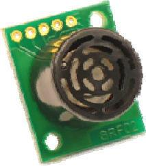 SRF02 ultrasonic sensor model