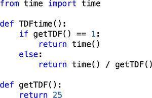 TimeDilation.py.