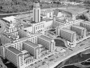 Pabellón Central, Universidad de Montreal.