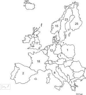 Bancos de leche materna en Europa.