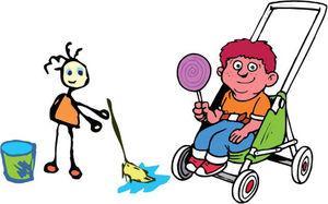 La actividad física tiene que formar parte de la vida diaria del niño.