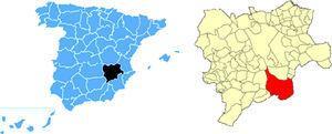 Localización geográfica del municipio. Fuente: Elaboración propia.