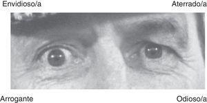 Ítem de prueba del test lectura de la mente en los ojos.