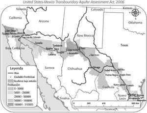 Sistemas Acuíferos Transfronterizos Prioritarios en la Ley 109-448 United States-Mexico Transboundary Aquifer Assessment Act, 2006
