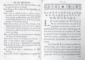 Fe de erratas del ejemplar de Ramírez de la Colección Lafragua. Acervo: Biblioteca Nacional de México.