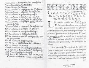 Fe de erratas completa del ejemplar de Ramírez del Fondo de Origen. Acervo: Biblioteca Nacional de México.