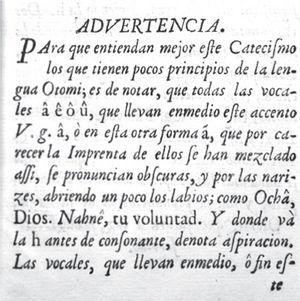 Advertencias del Catecismo del padre Miranda (México, Biblioteca Mexicana, 1759). Acervo: Biblioteca Cervantina, TEC