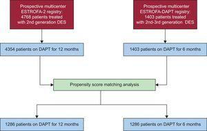 Study flow chart. DAPT, dual antiplatelet therapy; DES, drug-eluting stents.