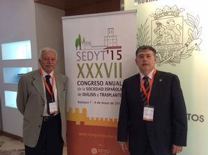 Dr. Emilio Sanchez-Casado, miembro del comité organizador de la XXXVII SEDYT 2015 en Badajoz (España).