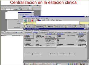 Centralización de todas las informáticas en una única estación clínica.