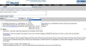 Medical Subject Headings Database.