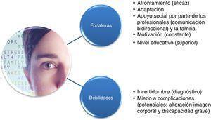 Categorías (fortalezas y debilidades) y subcategorías (valores emergentes) resultantes del análisis del contenido.