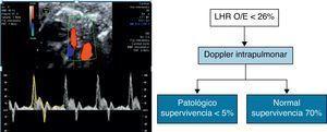 Doppler intrapulmonar normal en el grupo de HDC severa (LHRO/E< 26%) permite discriminar subgrupo de pacientes que se beneficiarán de la realización de terapia fetal.