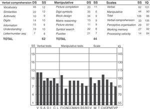 Wechsler adult intelligence scale (WAIS) III.