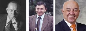 (A) David Sutherland; (B) Jean Michel Dubernard; (C) Hans Sollinge.