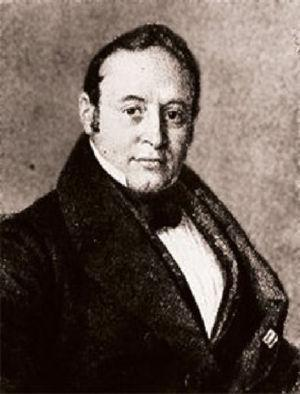 Moritz H. Romberg (1795-1873) with whom Dostoevsky sought a consultation in 1863.