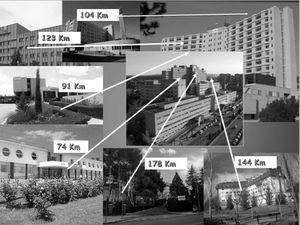 Distances from the various peripheral hospitals to the 2 stroke units (Hospital Universitario Miguel Servet and Hospital Clínico Universitario Lozano-Blesa).