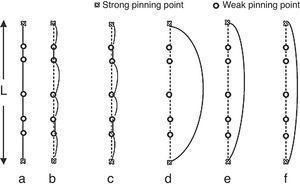 Granato and Lucke vibration string model.
