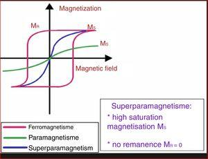 The magnetic properties of the Fe3O4@SiO2 nanoparticles [102].