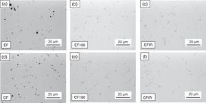 Microstructure features of various heat-treated specimens.