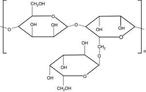 Chemical structure of sesbania gum.