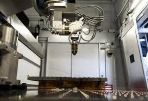 CO2 laser system used for the laser machining the CFRP laminates.