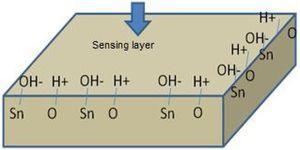 Humidity sensing mechanism.
