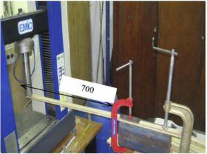 Standard of small scale cantilever beam creep testing rig setup [53].