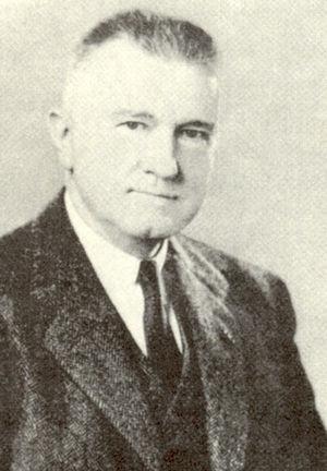 Retrato del Dr. Amos R. Koontz.