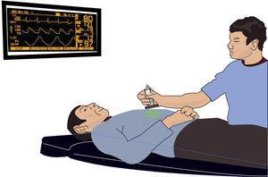 A Star Trek representation showing an oxygenation monitor. Source: authors.