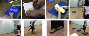 Exercises performed in age band 2 of the Movement Assessment Battery for Children-2.