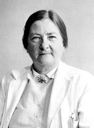 "Dorothy H. Andersen (1901–1963; North Carolina, USA), pathologist who described what we now know as cystic fibrosis as ""cystic fibrosis of the pancreas""."