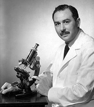 "Sydney Farber (1903–1973; Buffalo, New York, USA), paediatric pathologist who coined the term ""mucoviscidosis""."