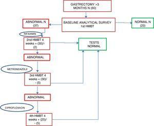 Study algorithm.