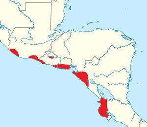 Regiones en donde se ha documentado la presencia de la nefropatía mesoamericana.