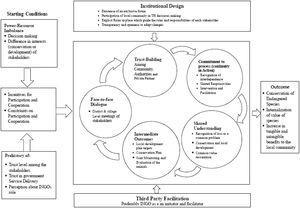 The Collaborative Process in CBTH.