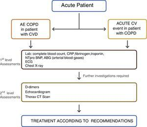 Proposed evaluation algorithm in the acute setting.