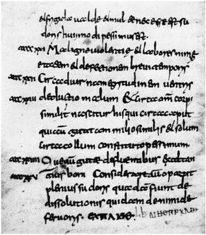 Corpus Hippocraticum (séc. III a.C.). Fonte: Hippocratic Corpus – Wikimedia Common.23